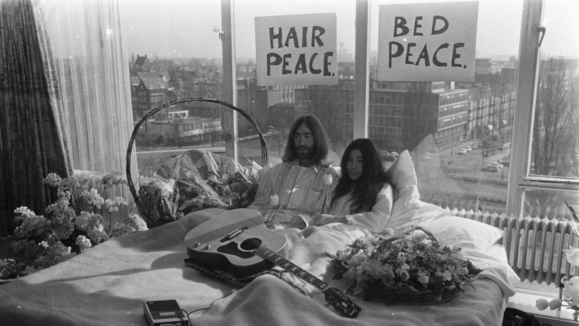 yoko ono is making a movie about her relationship with john lennon