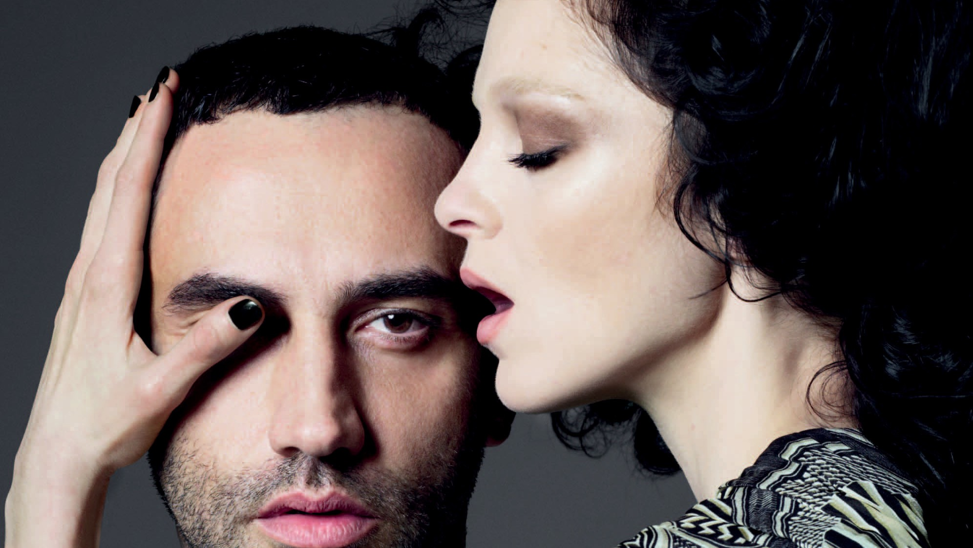 riccardo tisci talks love and family on the cover of i-D in 2010