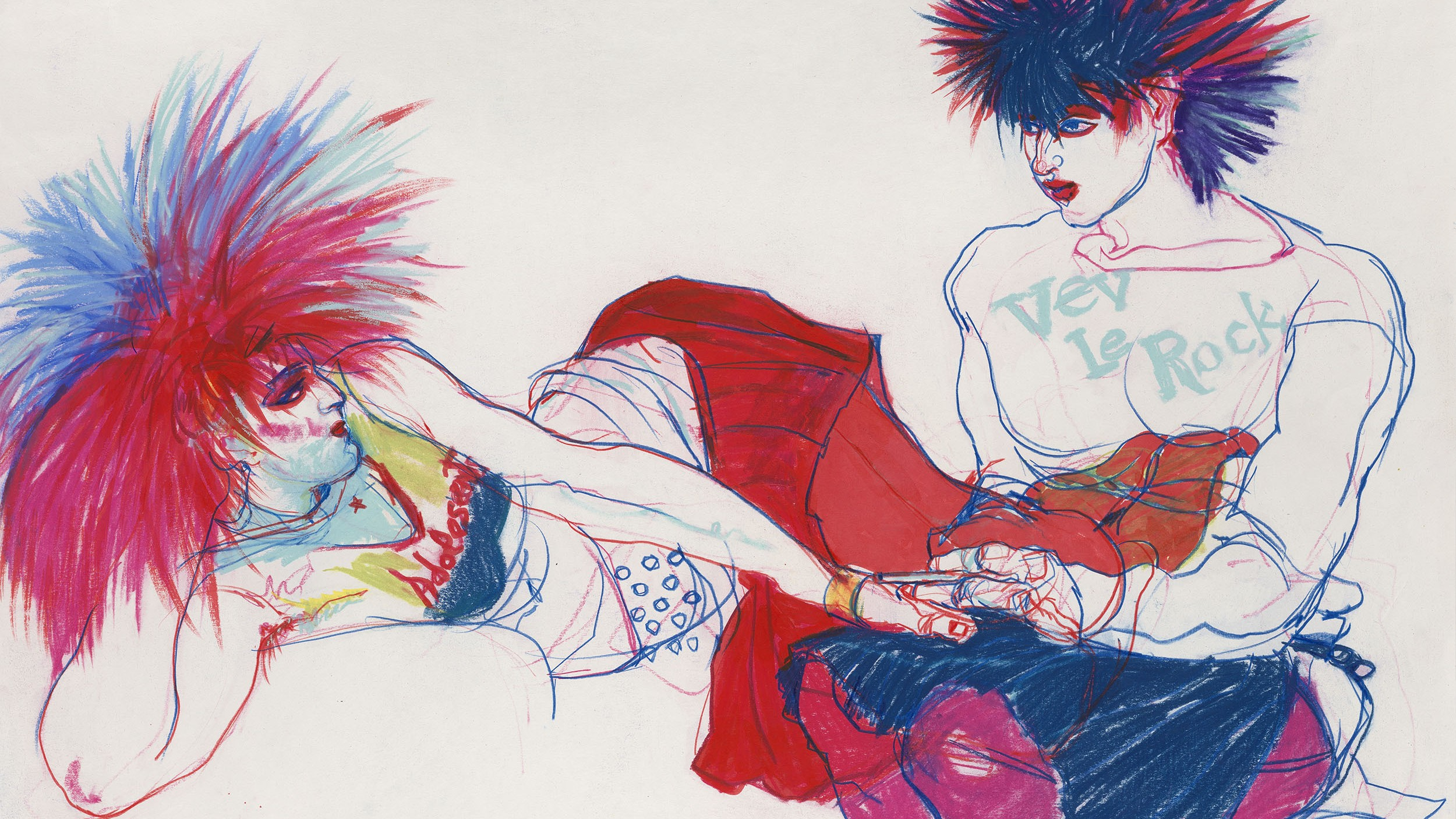 jo brocklehurst, the mysterious outsider who illustrated punk