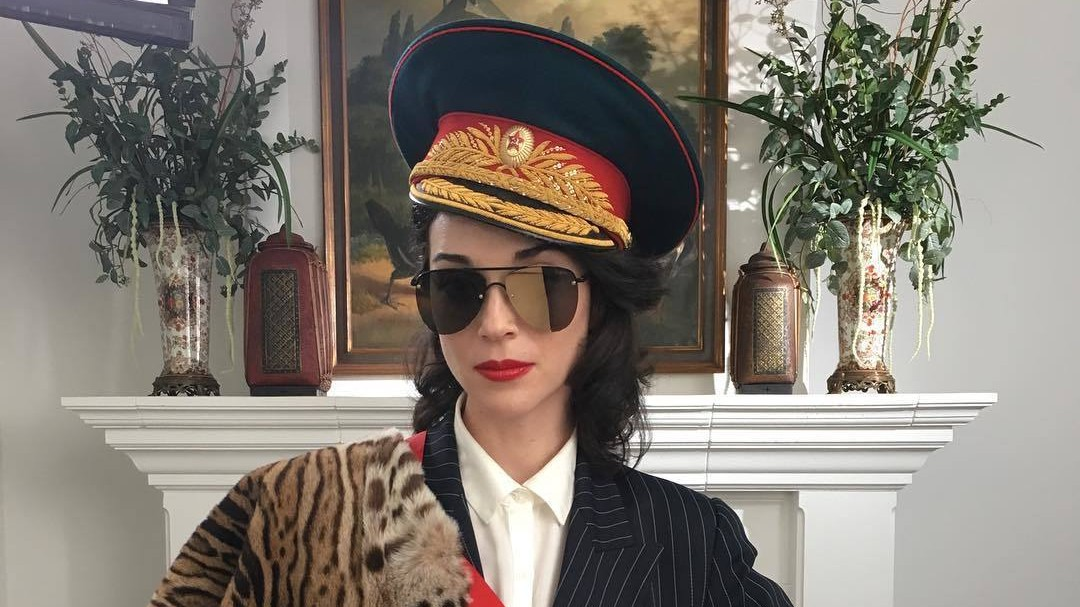 writer, director, diplomat: st. vincent is ambassador to a fake russian island