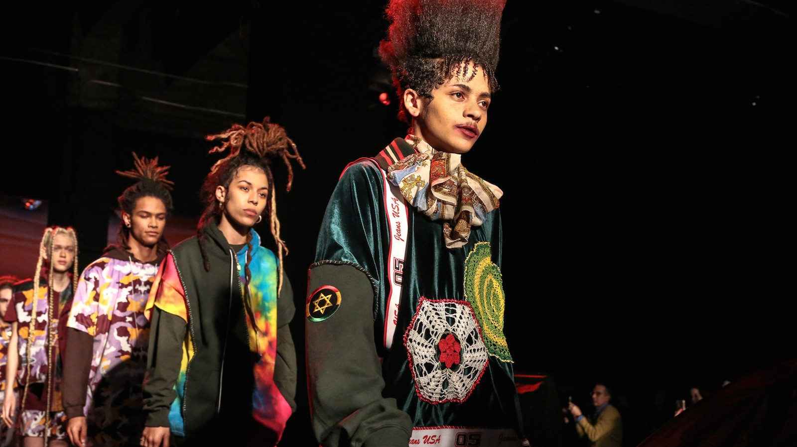 gypsy sport casts marchers and protesters for autumn/winter 17