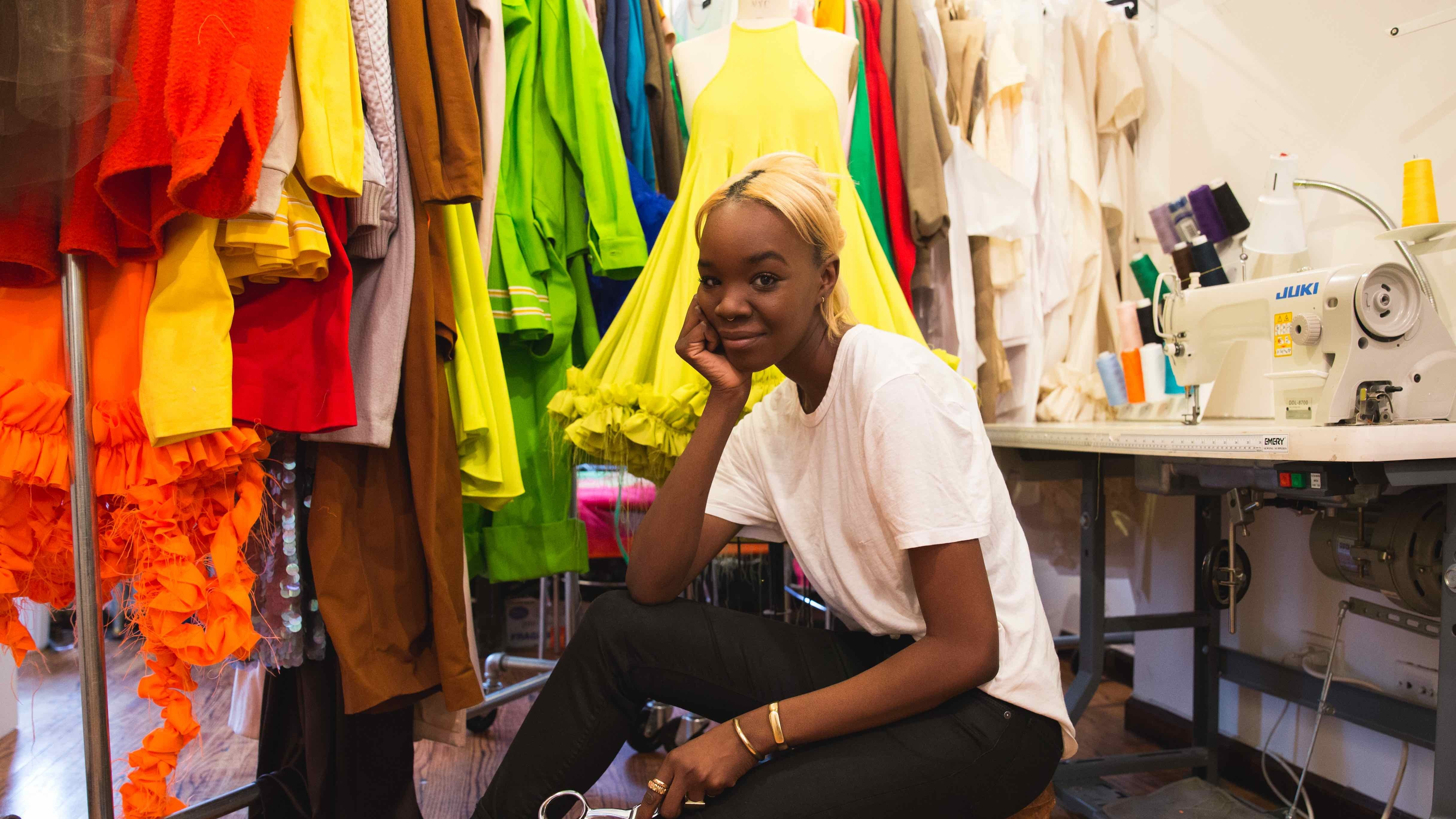 recho omondi is the color-happy designer from bed-stuy changing the fashion game