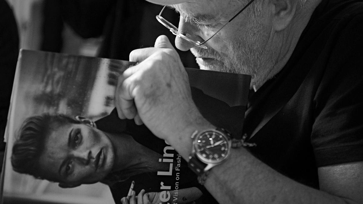 peter lindbergh on talent, beauty and instagram
