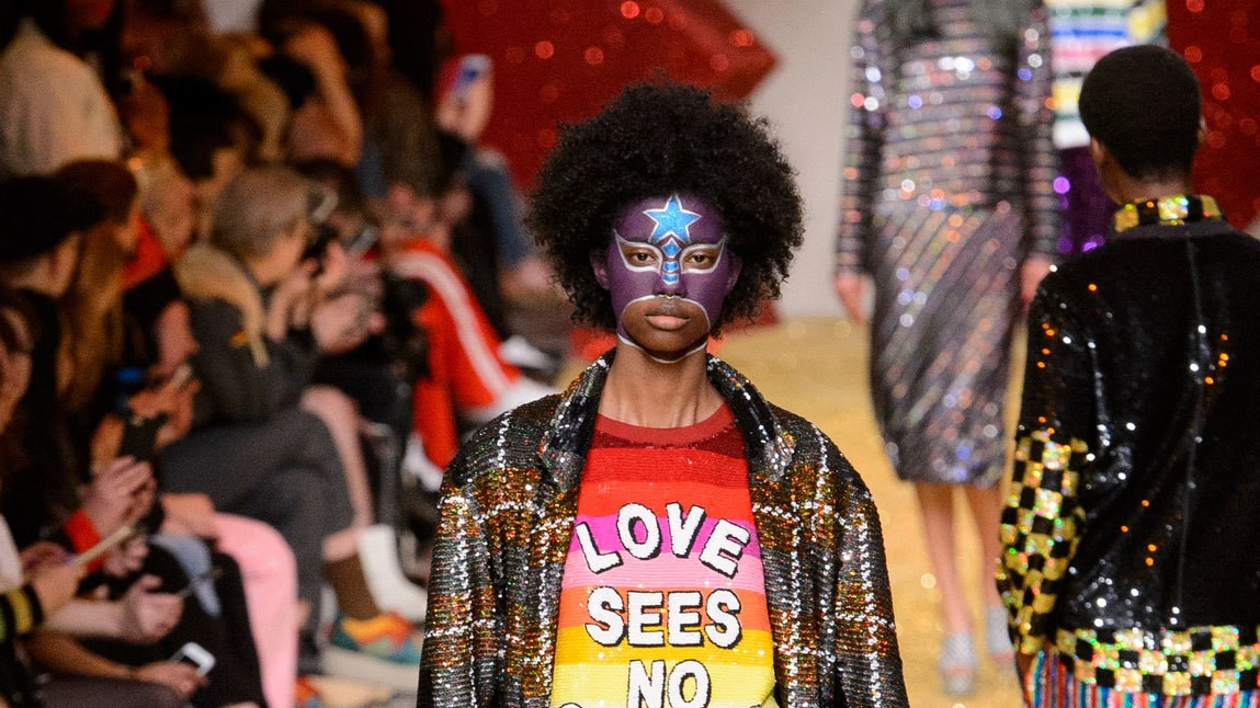 lfw fall/winter 17, day four: ashish, dilara findikoglu, shrimps, and sophia webster