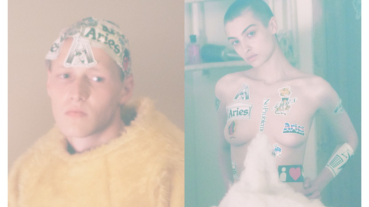 david sims and sofia prantera chat about commerciality, culture, and 'click to buy'