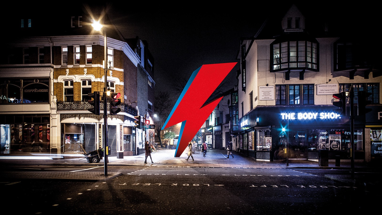 london will honor david bowie with a three story lightning bolt sculpture