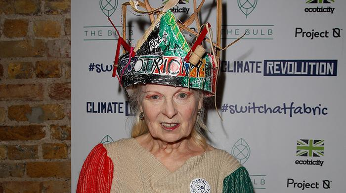 watch the i-D livestream of vivienne westwood's climate revolution club night