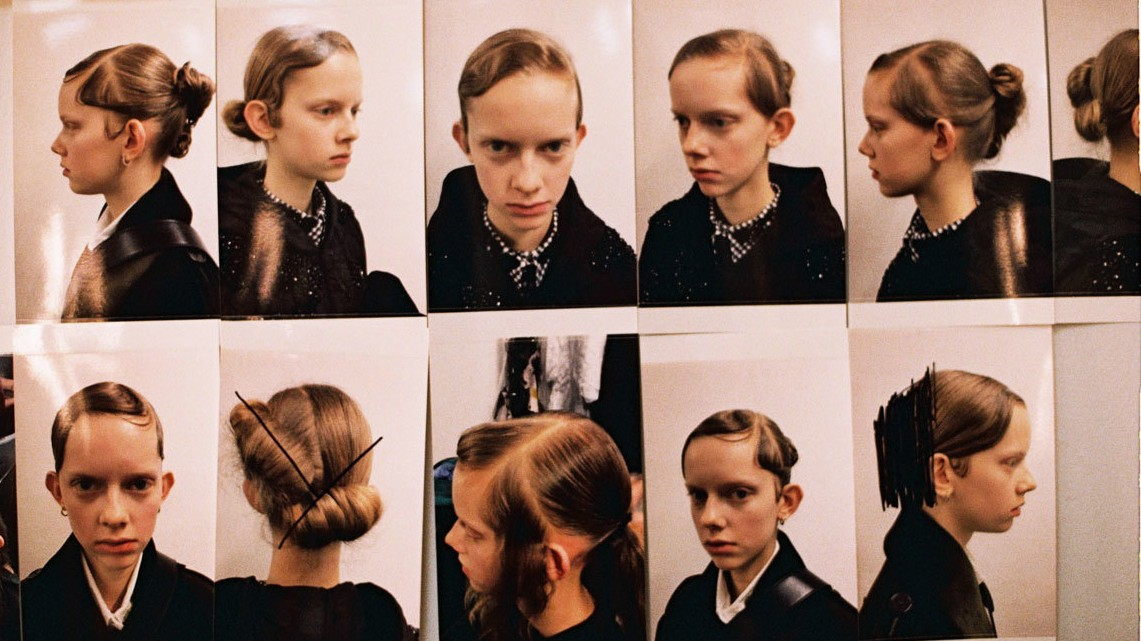 backstage at lfw: simone rocha fall/winter 17