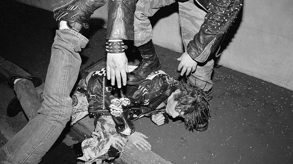 inside the warzone: photographing belfast's 90s punk scene