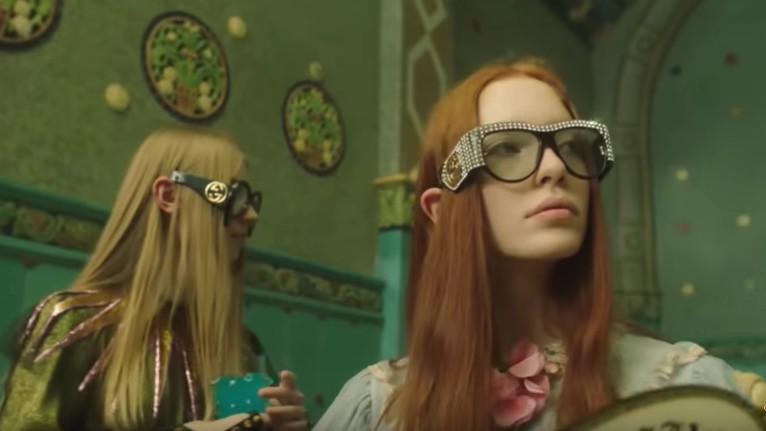 petra collins whisks us away to a hungarian paradise in her new film for gucci