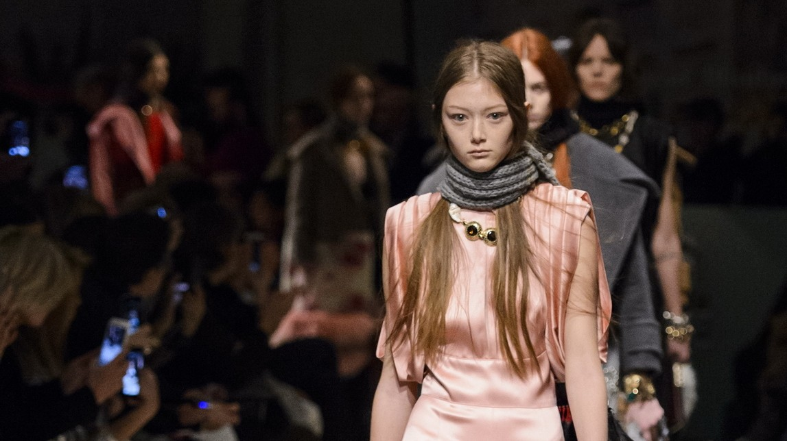 beauty and brains: prada, fendi and moschino take feminism to milan