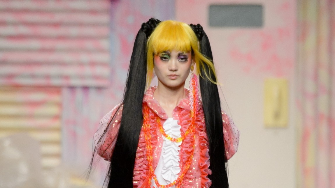 london fashion week fall/winter 17 was super kawaii