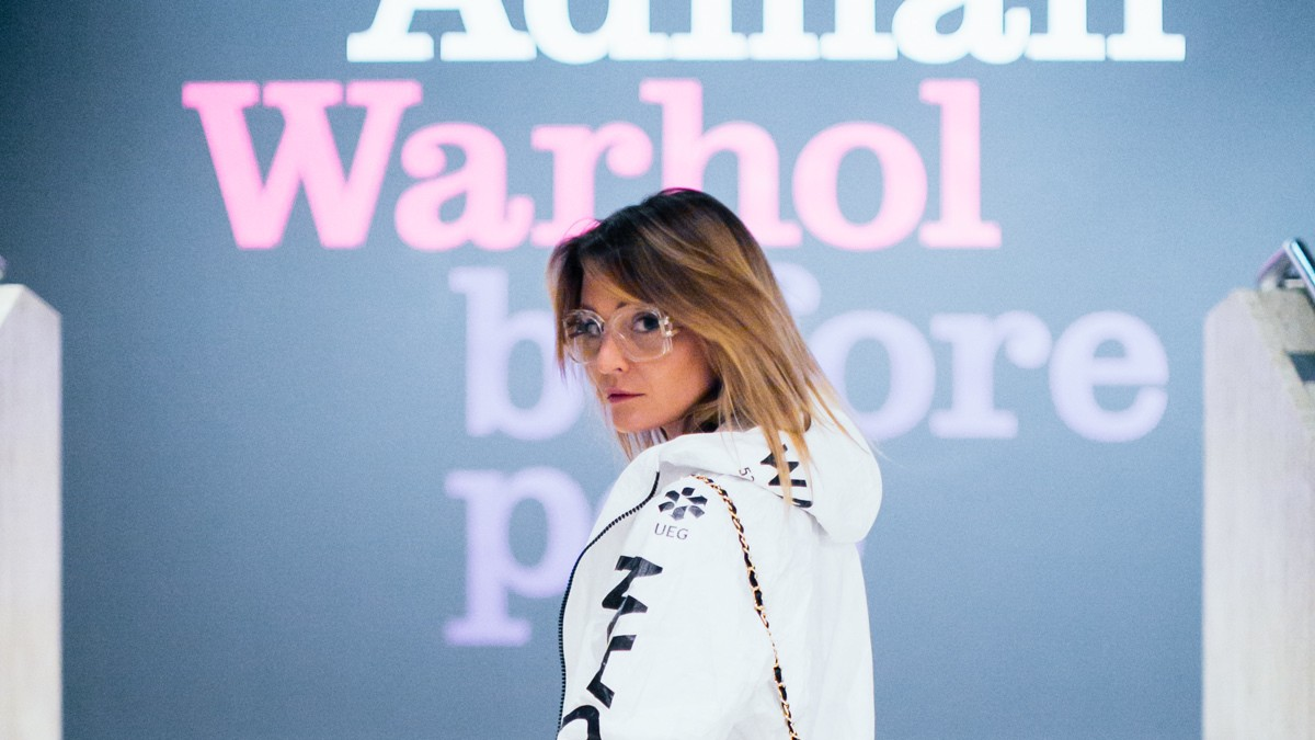 i-D's preview party for 'warhol before pop' exhibition, straight up