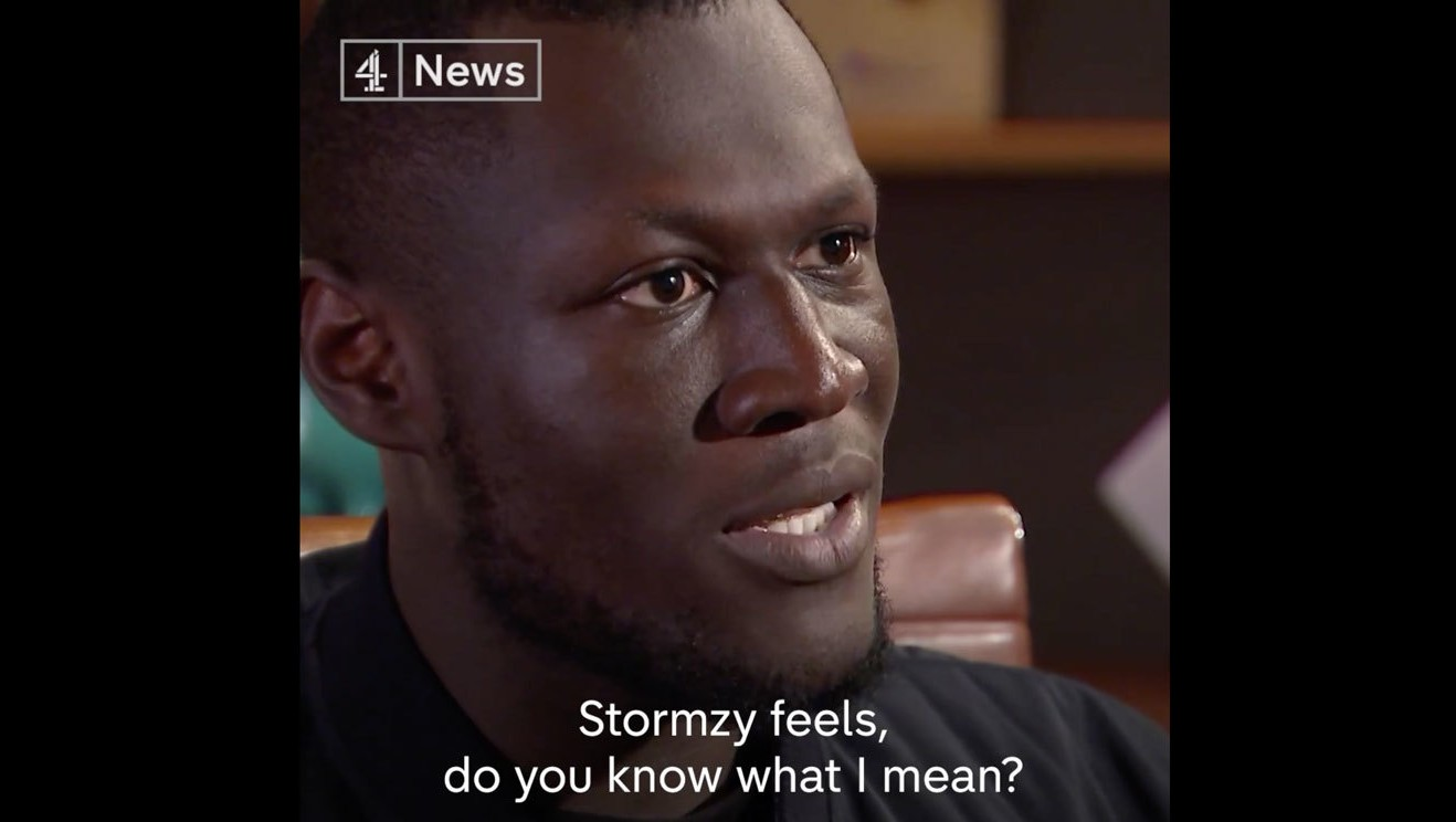 stormzy speaks out about depression