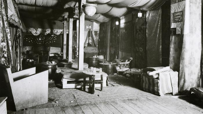 visit the 1930s gay members' club raided by police
