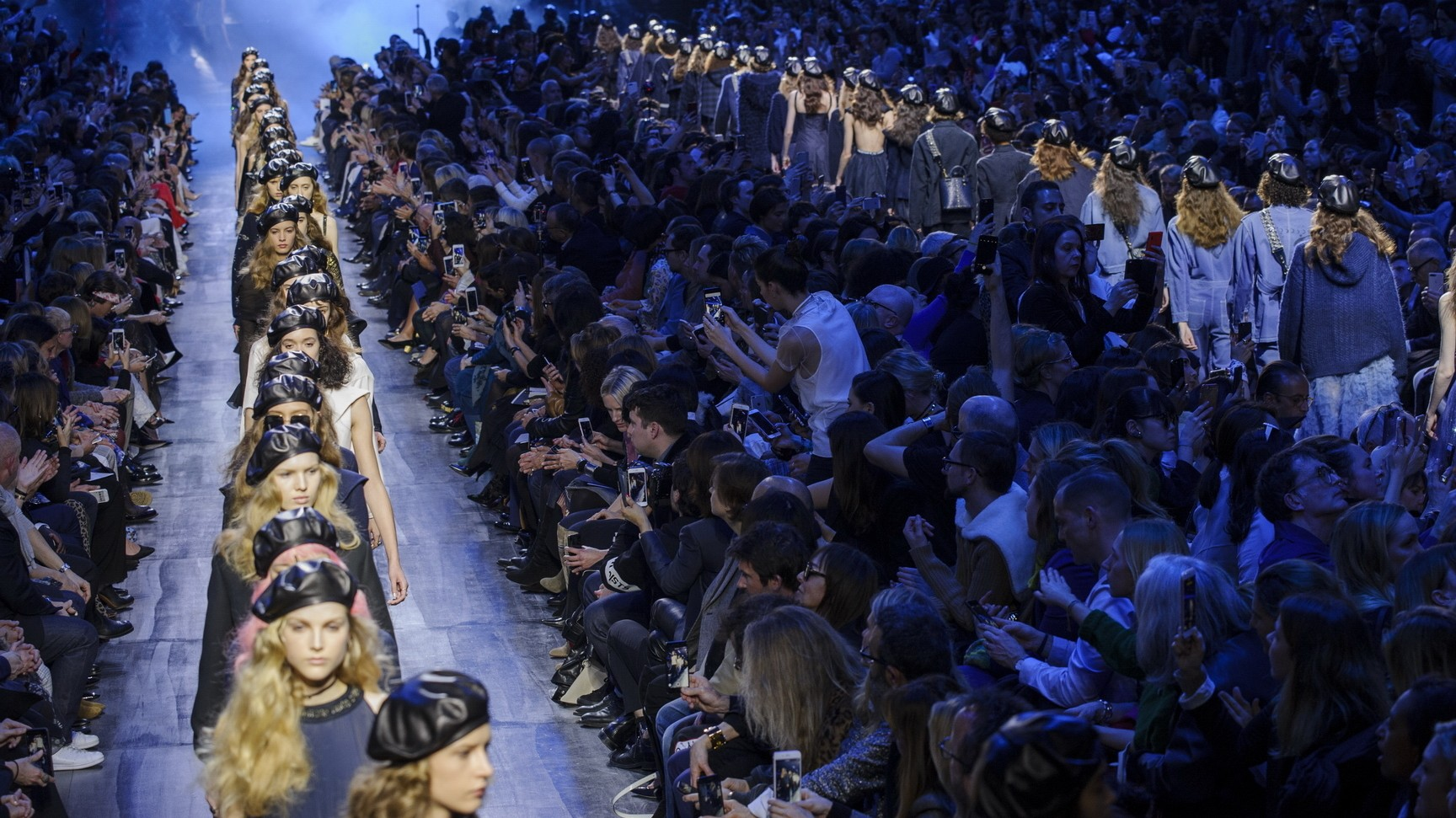 the hunger games: dior, yohji yamamoto and loewe at paris fashion week