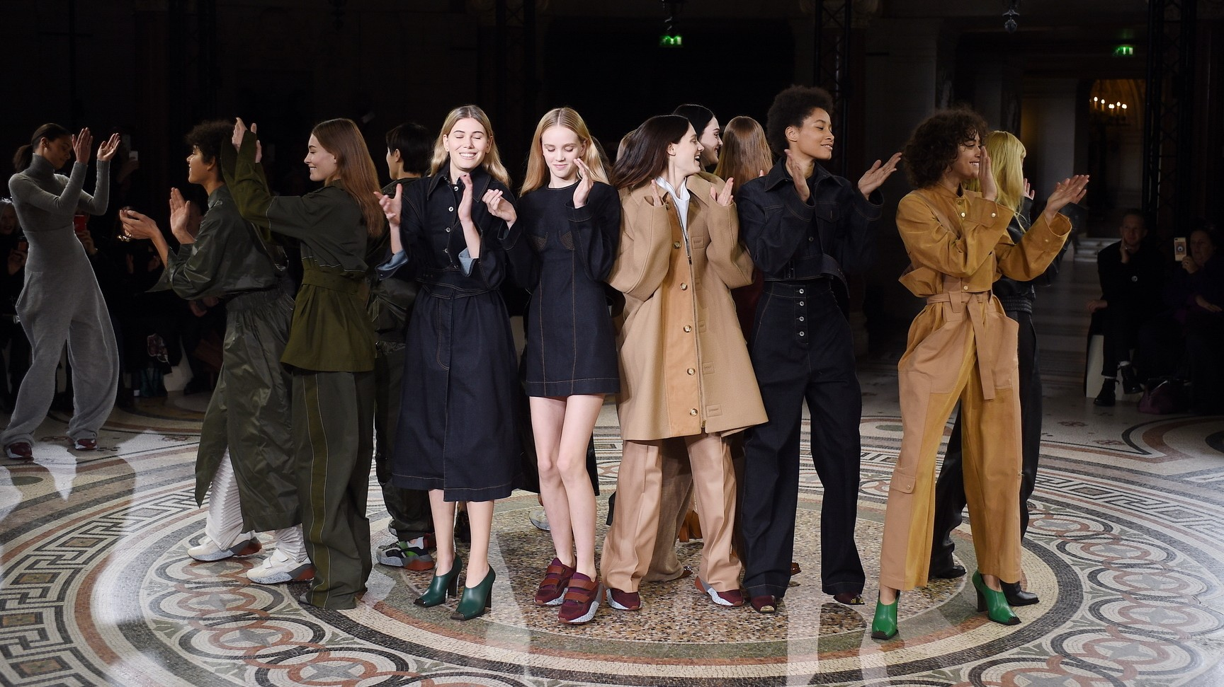 smile therapy: stella mccartney, hermès and alexander mcqueen at paris fashion week