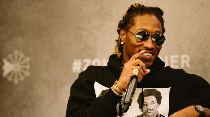 rapper future on shopping, style and sneakers