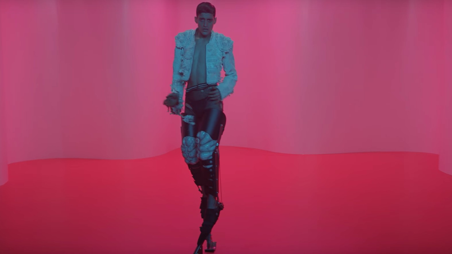 arca plays both sides of a bullfight in the new video for reverie