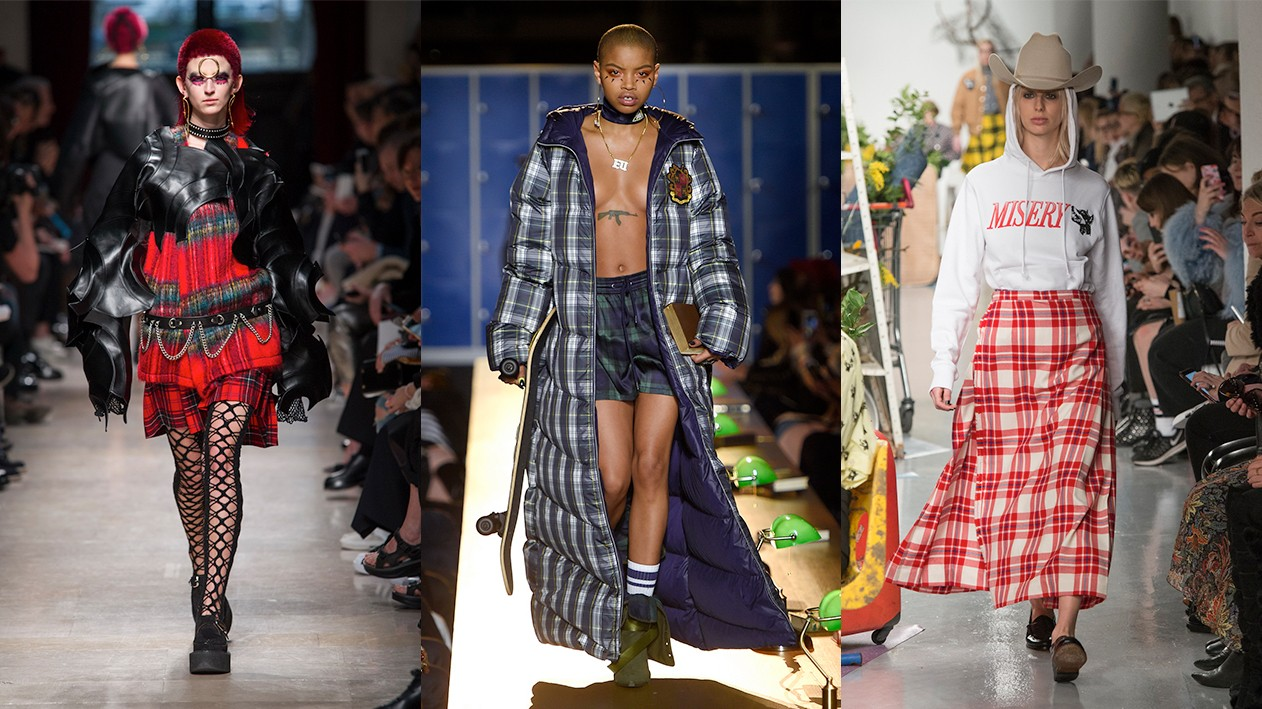 a punk and political potted history of tartan