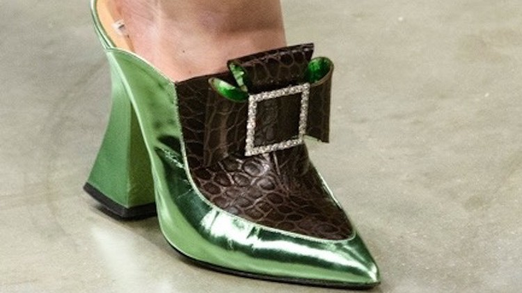 in praise of mules, fashion's most perverse shoes