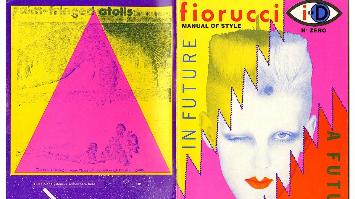 take an exclusive look inside fiorucci's 80s fanzine collab with i-D