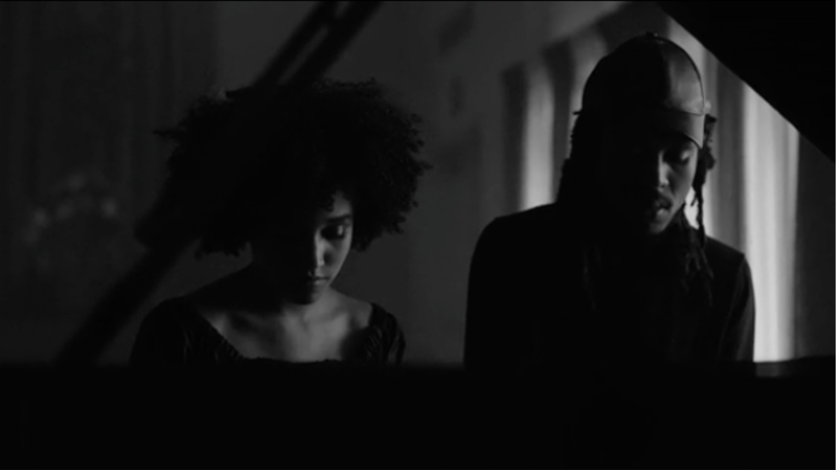 watch a new three-track blood orange video featuring amandla stenberg