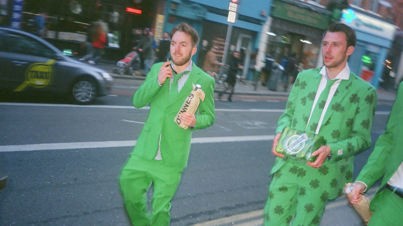 buckfast and paddywagons: photographing irish youth on saint patrick's day