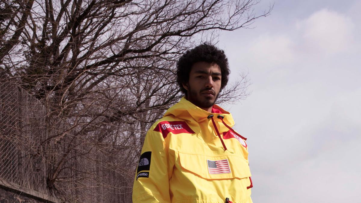 ​supreme and the north face vibe on antarctica and the us flag