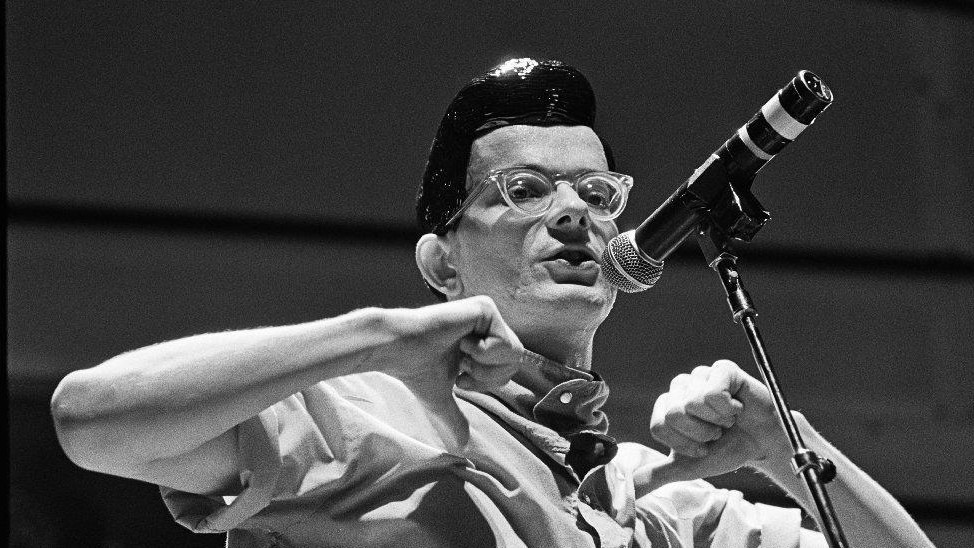 devo frontman and wes anderson collaborator mark mothersbaugh on his first retrospective