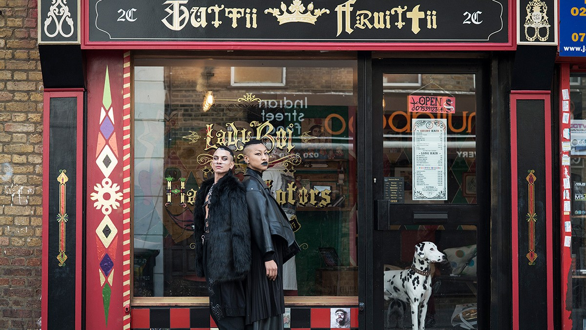tuttii fruitti is london's colourful hair sculpting non-binary salon for all genders and hair types