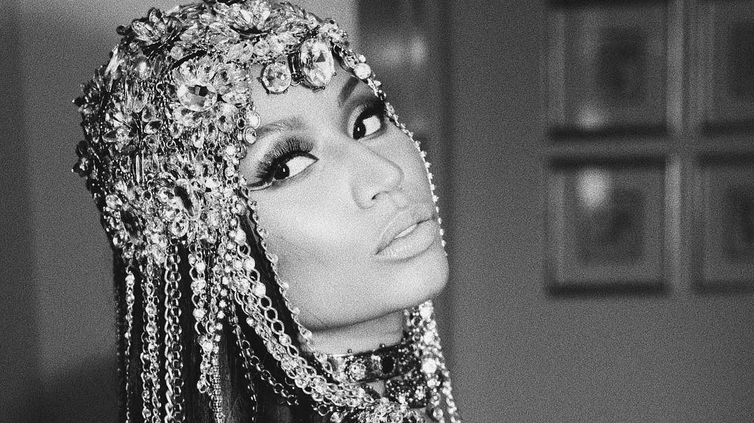 nicki minaj has signed with top modelling agency wilhelmina