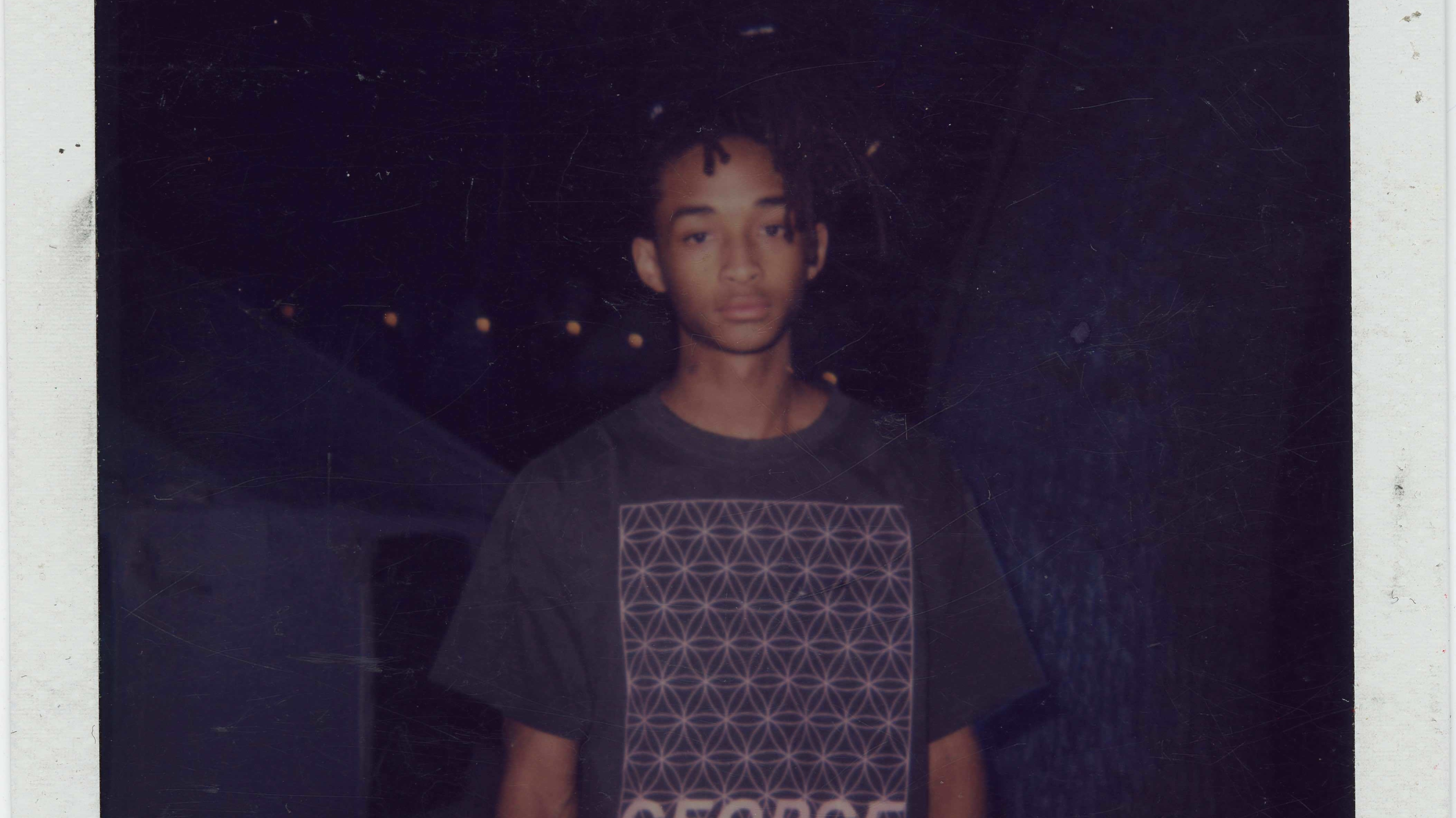 a polaroid art project reveals how jaden smith would spend his last days on earth
