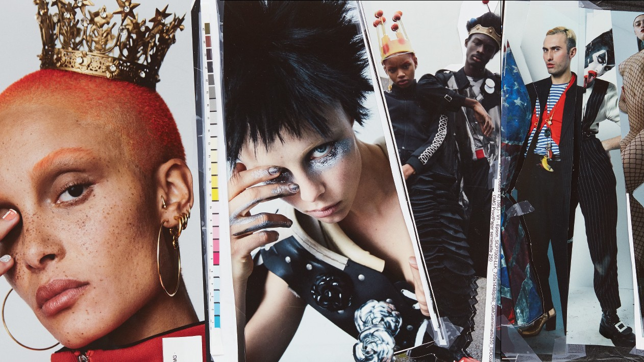 get the first look at i-D's creativity issue!