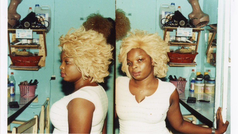 exploring the politics of going blonde at west african salons