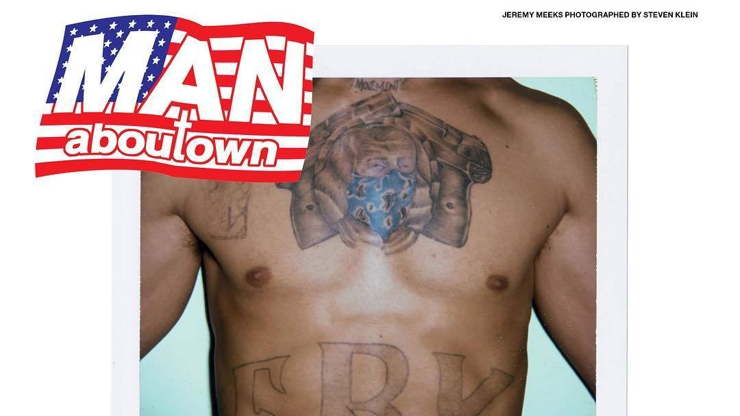 ​hot felon jeremy meeks bags his first ever magazine cover