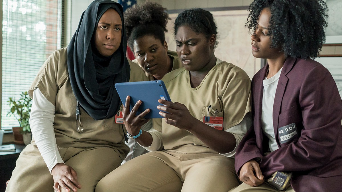 a very tense first look at orange is the new black season five