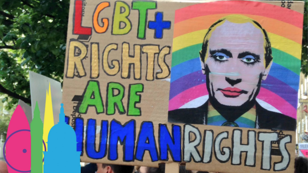 ​i-D stands with chechnya's gay community