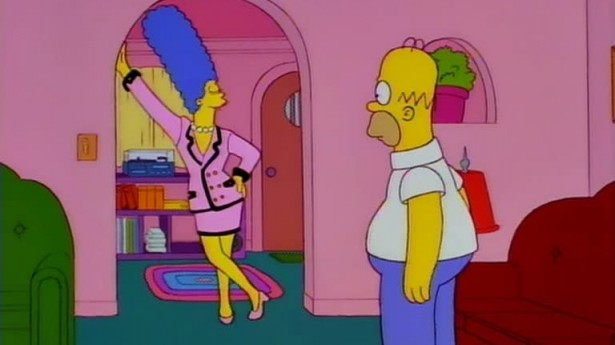 what 'the simpsons' taught us about fashion
