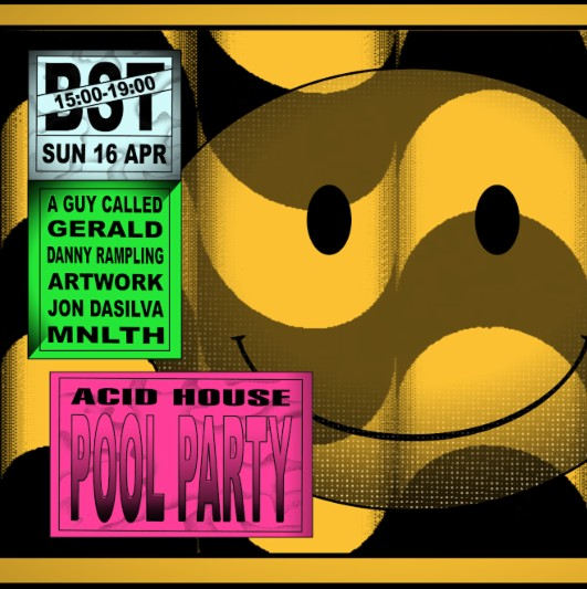 A legendary 80s acid house pool party is being resurrected for Acid house party
