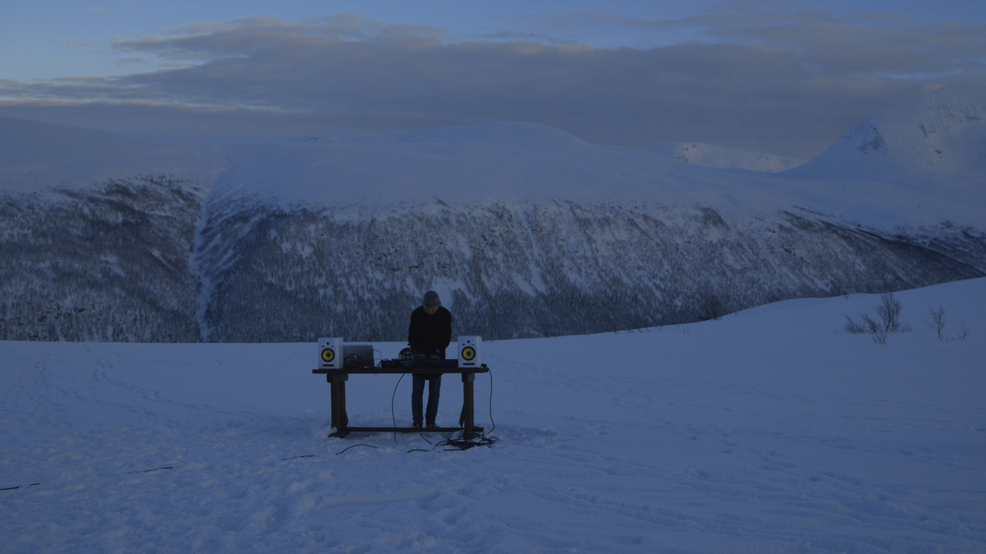 exploring the isolation and ecstasy of dance music in the arctic circle
