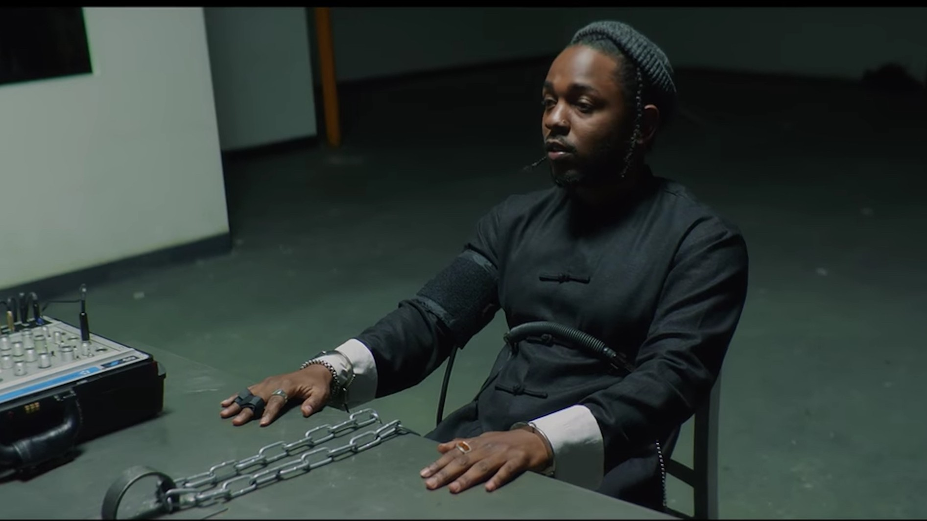 watch don cheadle take on kendrick lamar in 'dna' video