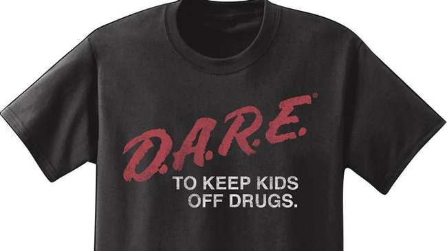 58298fb04 the unlikely story behind 'd.a.r.e to keep kids off drugs' t-shirts ...