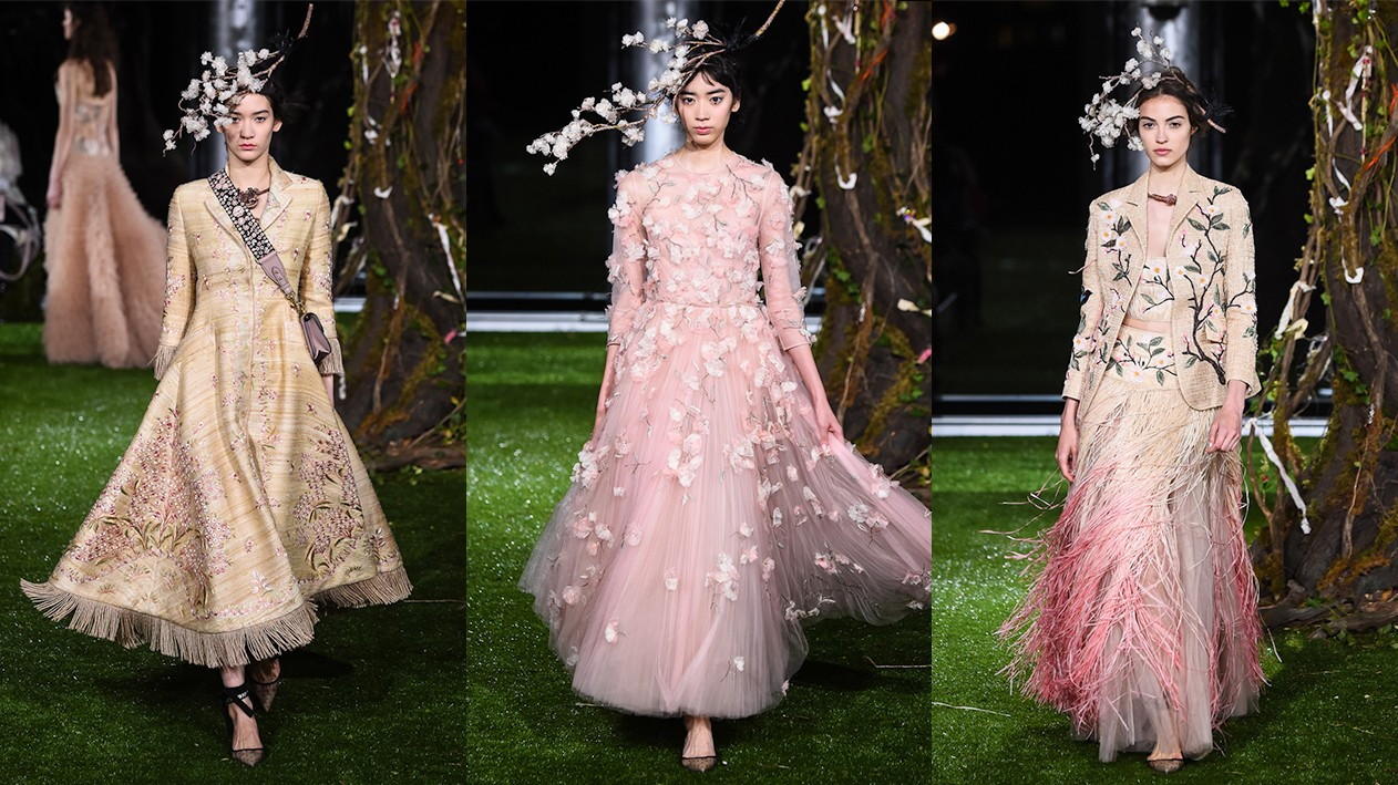 maria grazia chiuri extends her dior haute couture collection in tokyo
