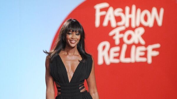 naomi campbell announces next fashion for relief show in aid of save the children