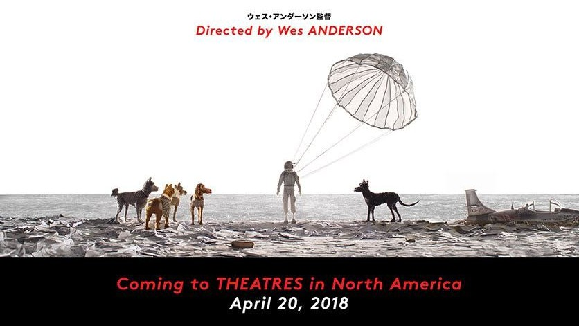 here's the first look at wes anderson's new film, isle of dogs