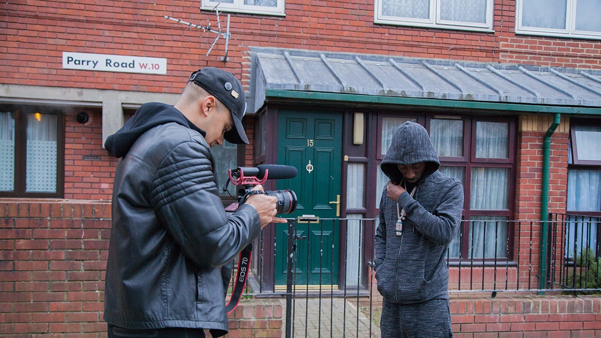 the new doc celebrating london's underground rap music scenes
