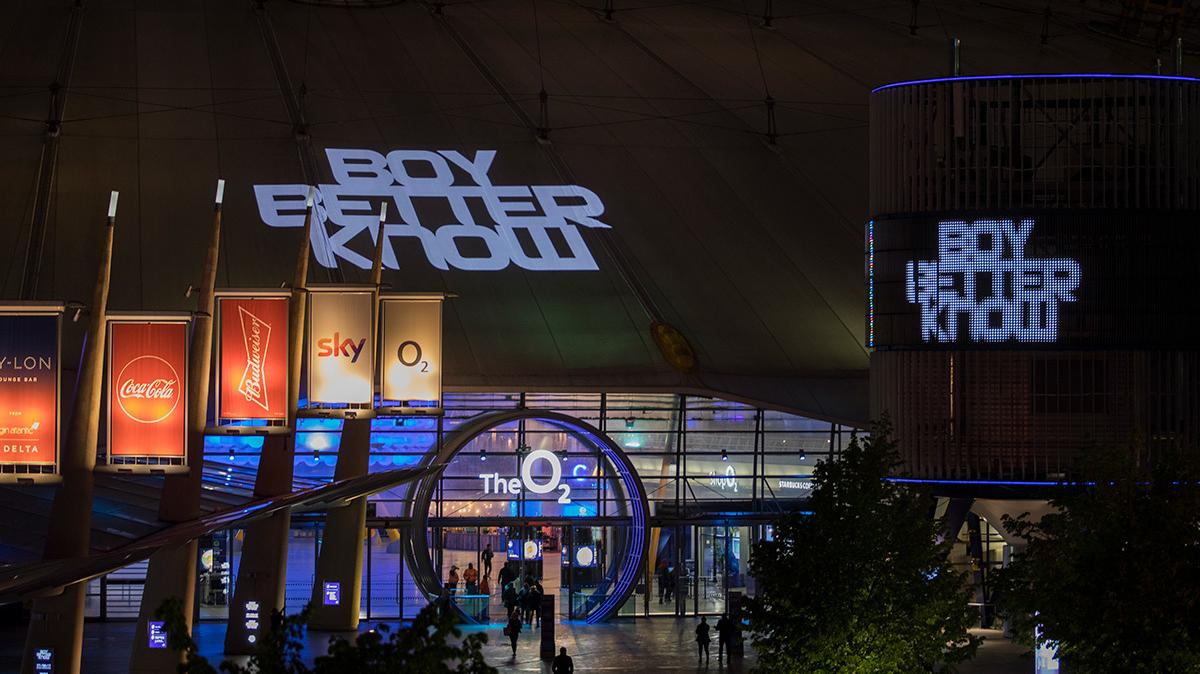 boy better know are taking over the o2