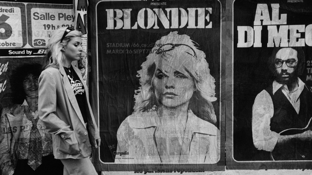ella es blondie por el guitarrista chris stein