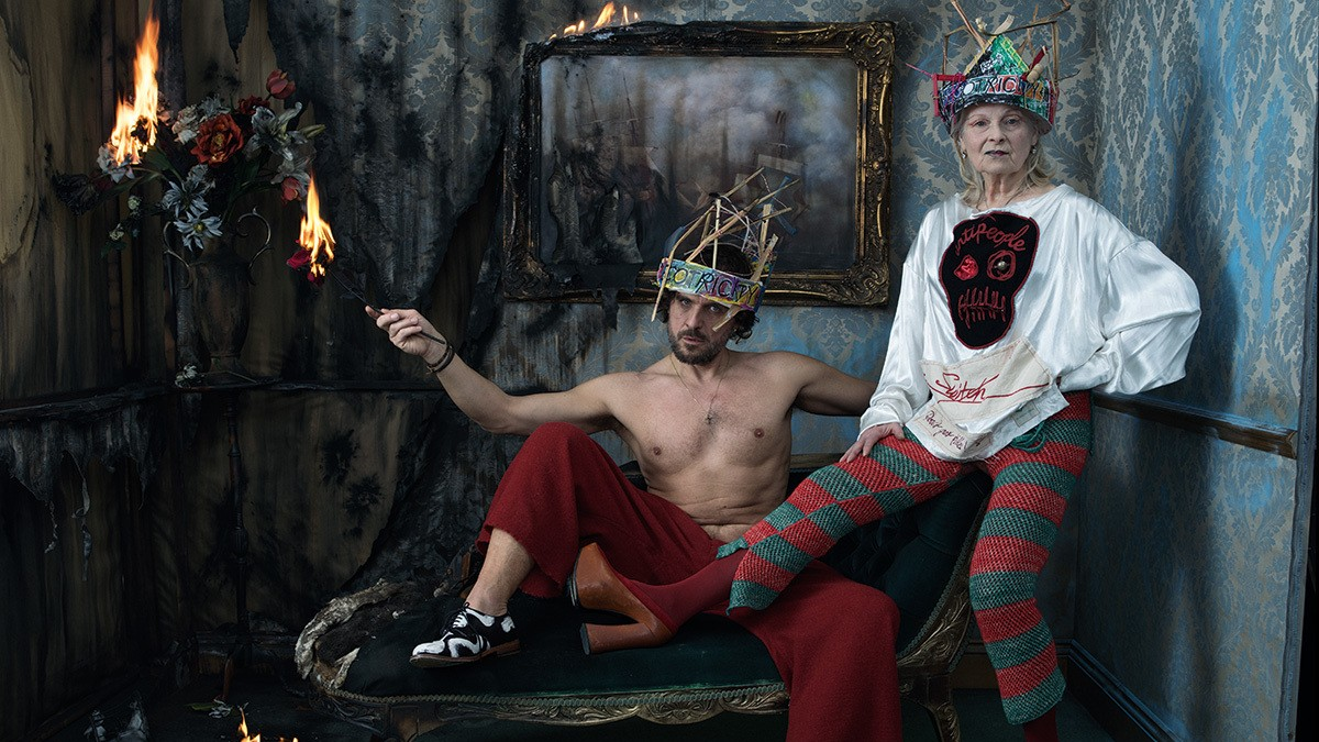 vivienne westwood and andreas kronthaler are using creativity to save the world